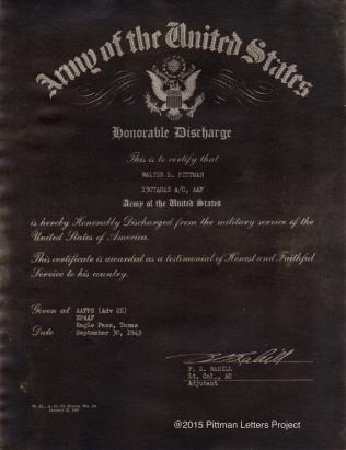 Discharge 1943